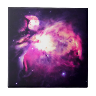 Orion Nebula Hauntingly Beautiful Purple Tile