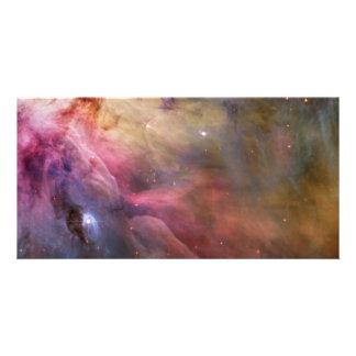 Orion Nebula Hubble Space Customised Photo Card