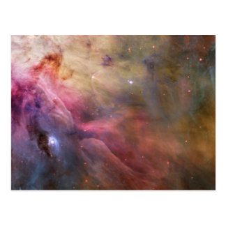 Orion Nebula Hubble Space Postcard