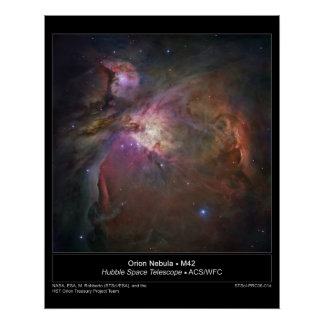 Orion Nebula - M42 poster