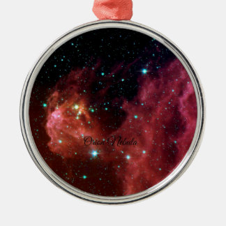 Orion Nebula Metal Ornament