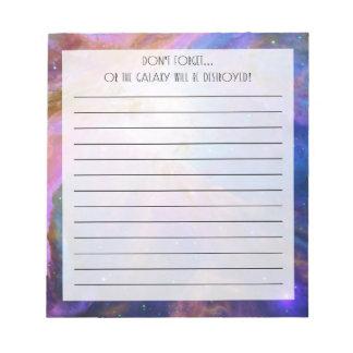Orion Nebula Notepad
