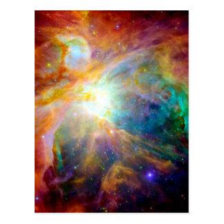 Orion Nebula Rainbow Galaxy Postcard