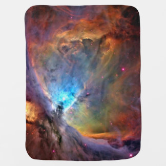 Orion Nebula Space Galaxy Baby Blanket