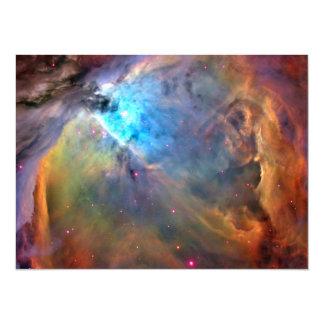 Orion Nebula Space Galaxy Card