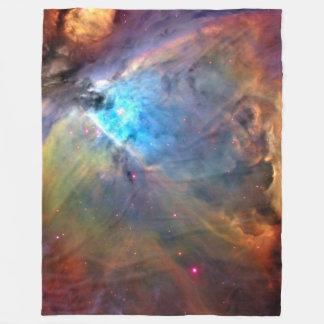 Orion Nebula Space Galaxy Fleece Blanket