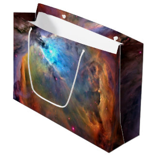 Orion Nebula Space Galaxy Large Gift Bag