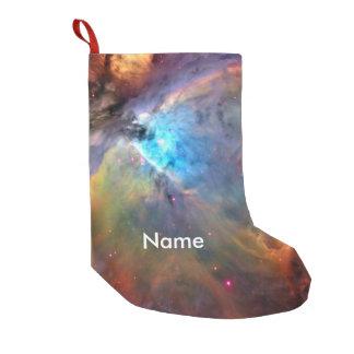 Orion Nebula Space Galaxy Small Christmas Stocking
