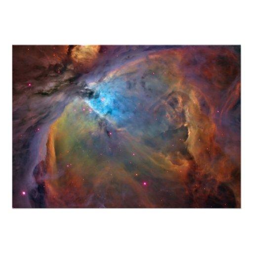 ORION NEBULA SPACE WONDERS STARS GALAXY UNIVERSE P CUSTOM INVITATION