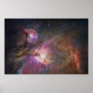 Orion Nebula Wide 1 Poster