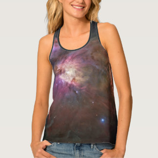 Orion Nebula Women's All-Over Print Racerback Tank