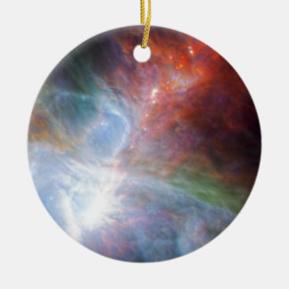 Orion Rainbow Round Ceramic Decoration