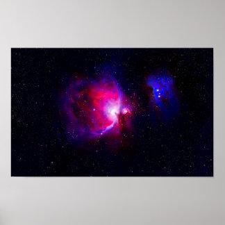 Orion's Nebula Poster