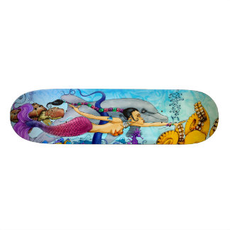 Orisha Mermaid Pro Deck Skate Board Decks