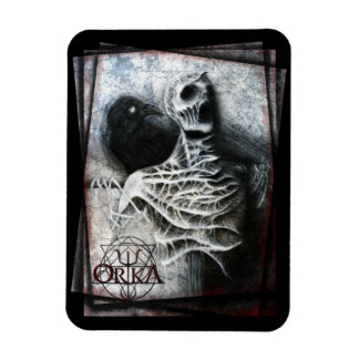ORKA - Whispers of a hidden fear - fridge magnet