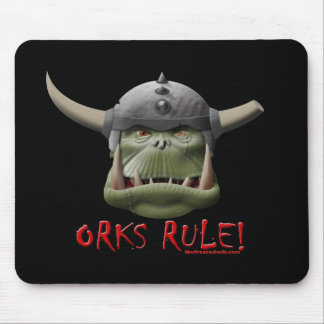 Orks Rule! Mouse Pad