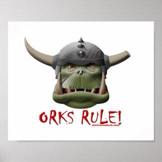 Orks Rule! Print