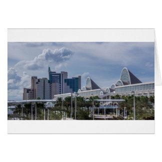 Orlando Aerial View Card
