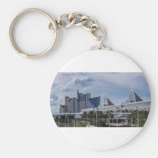 Orlando Aerial View Key Ring