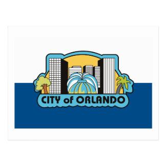 Orlando Flag Postcard