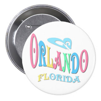 Orlando Florida 7.5 Cm Round Badge