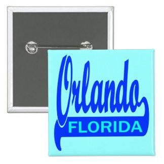 Orlando, Florida Pinback Buttons