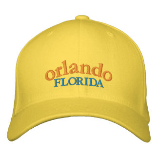 Orlando Florida Baseball Cap Embroidered