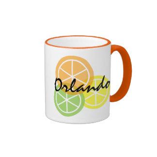 Orlando Florida Citrus Orange LimeLemon Coffee Mug