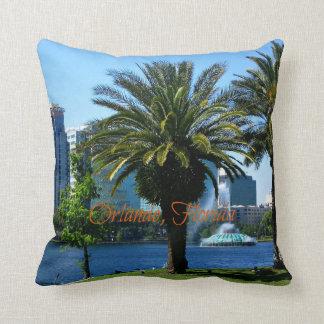 Orlando Florida Cityscape Throw Cushions