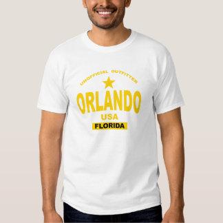 Orlando Florida in gold Shirts