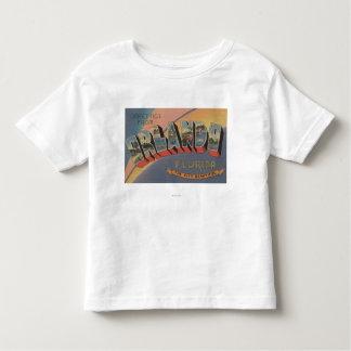 Orlando, Florida - Large Letter Scenes 2 Toddler T-Shirt