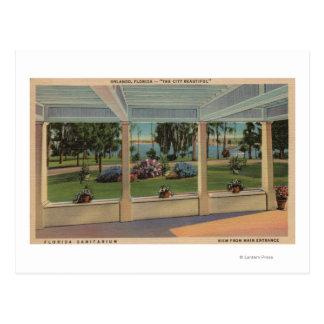 Orlando, Florida - Outdoor View of Florida Postcard