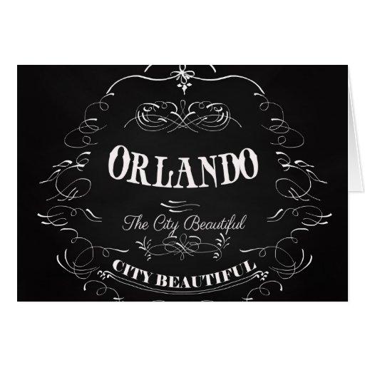 Orlando Florida - The Beautiful City Card