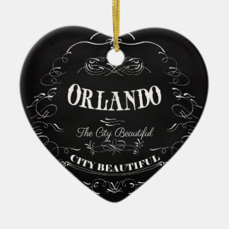 Orlando Florida - The Beautiful City Ornament