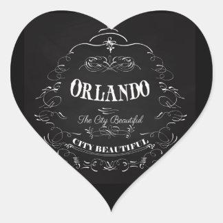 Orlando Florida - The Beautiful City Heart Sticker