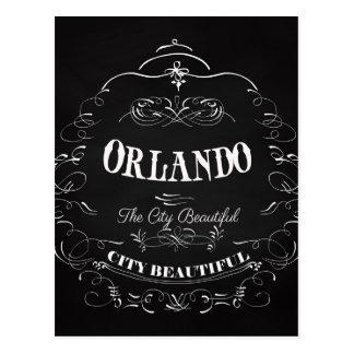 Orlando Florida - The Beautiful City Postcard
