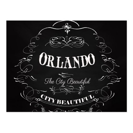 Orlando Florida - The Beautiful City Postcards