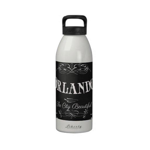 Orlando Florida - The Beautiful City Water Bottle
