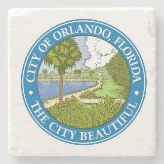 Orlando Florida The City Beautiful Stone Beverage Coaster