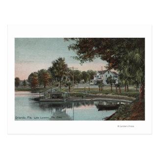 Orlando, Florida - View of a Cove at Lake Postcard