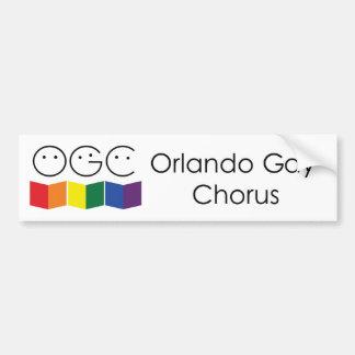 Orlando Gay Chorus Bumper Sticker