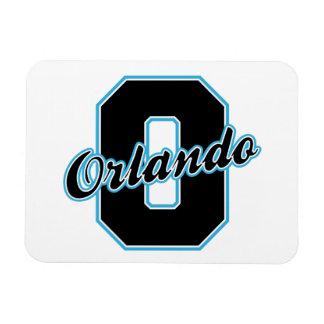 Orlando Letter Rectangular Photo Magnet
