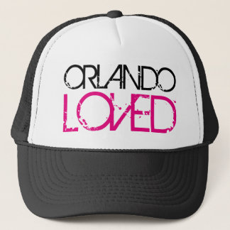 ORLANDO LOVED TRUCKER HAT