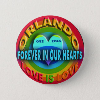 Orlando Memorial 6 Cm Round Badge