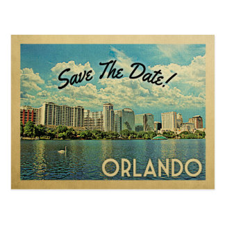Orlando Save The Date Florida Postcard