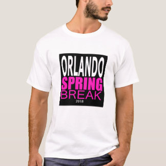 Orlando Spring Break 2018 Graphic T-Shirt, Adult L T-Shirt