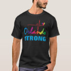 Orlando Strong Rainbow Pulse Heart LGBT T-Shirt