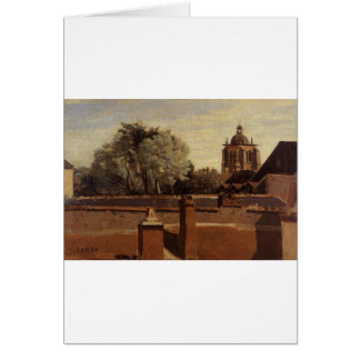 Orleans, View from a Window Overlooking the Saint Greeting Card