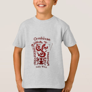 Ormhäxan Snake Witch Rune T-Shirt