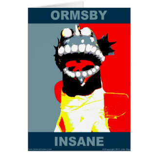 Ormsby Campaign Greeting Card (Blank Inside)